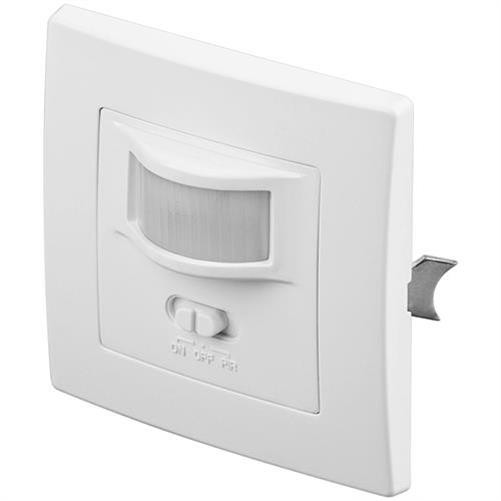 Goobay Bewegungsmelder IDUW weiss Infrarot Unterputz Wand innen LED-geeignet Alarmmelder Weiß